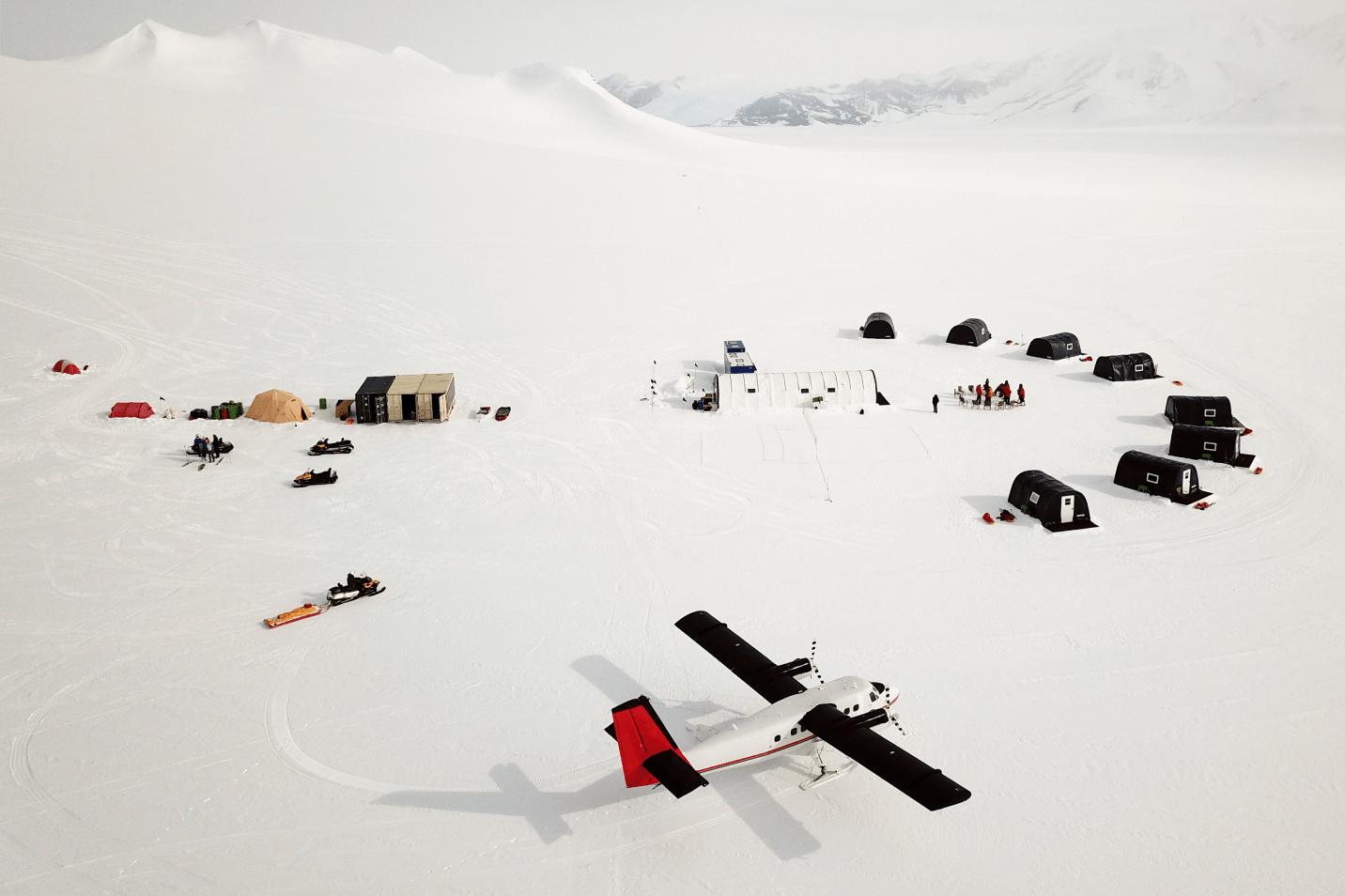 Antarctica Airbnb camp