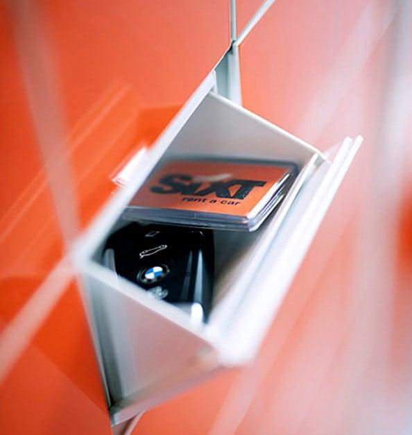 Sixt Fast Track locker (2)