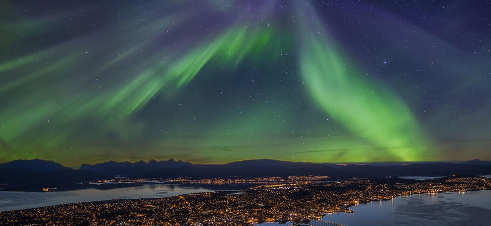 Northern Lights Tromso Norway cut