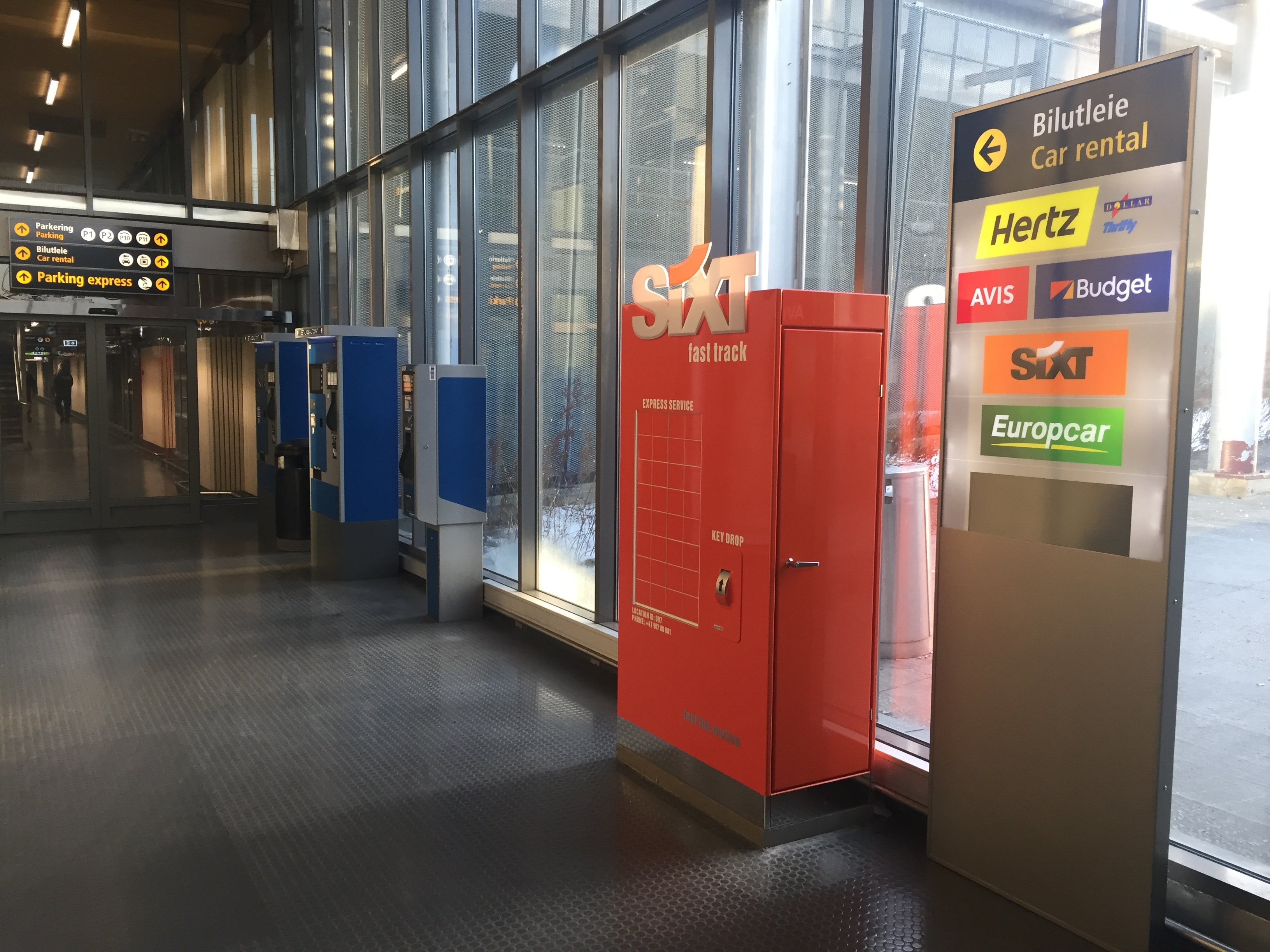 Sixt Oslo Airport 04.